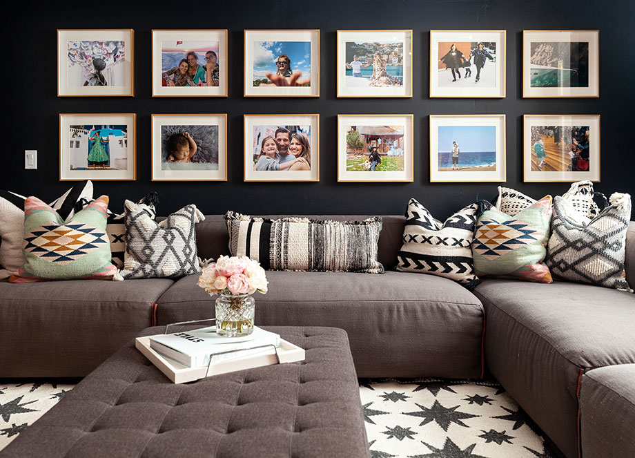 Corri McFadden shows readers how to create a gallery wall.