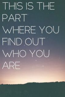 Find out who you are