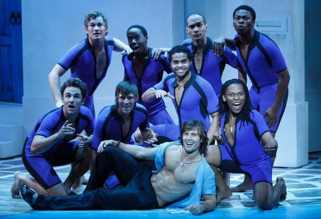The guys in Mamma Mia!