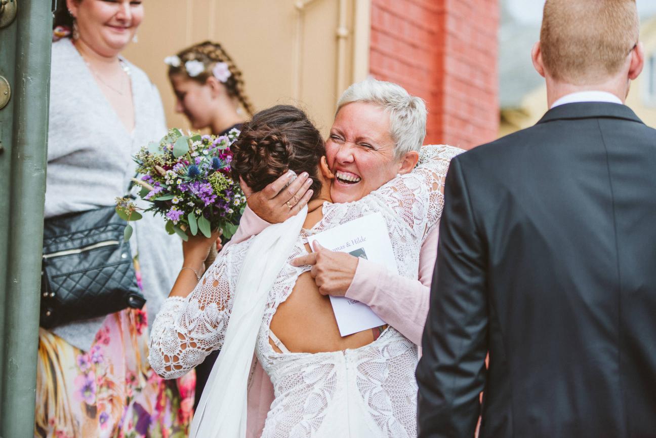 Wedding on the Norwegian West Coast
