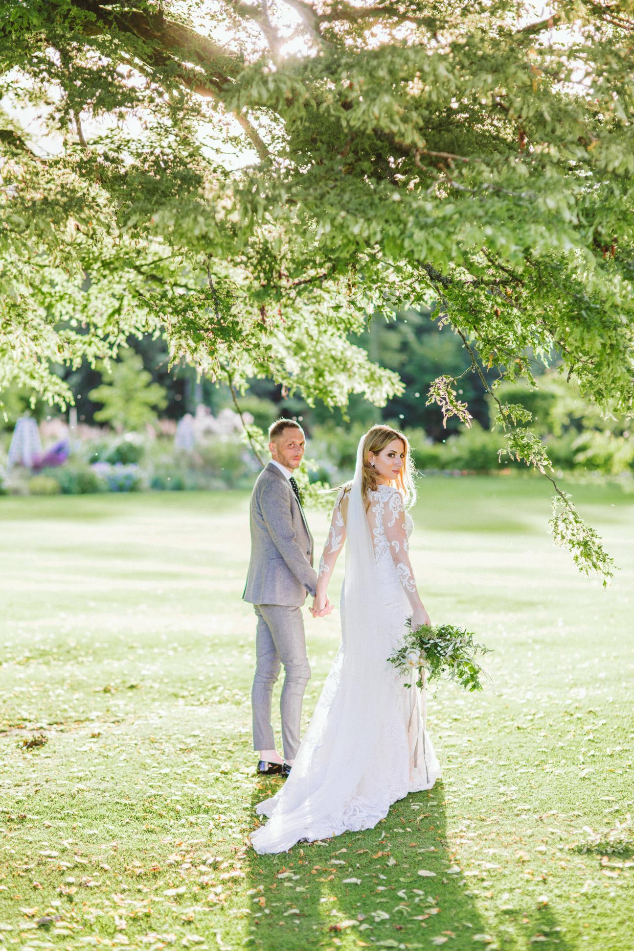 Wedding at Fasque Castle