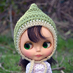 Blythe Doll Pixie Hats