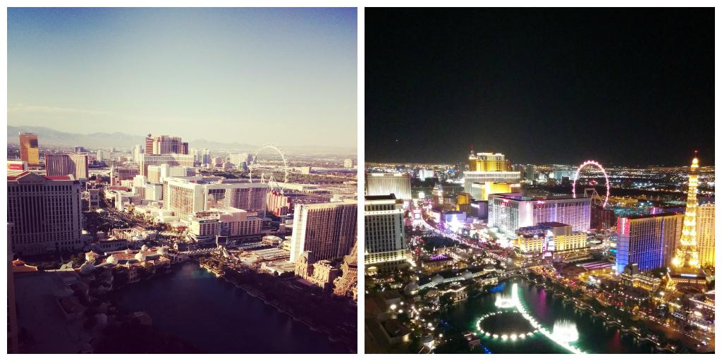 Balcony View - Day & Night