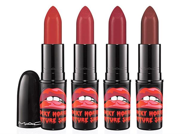 MAC x Rocky Horror Lipsticks