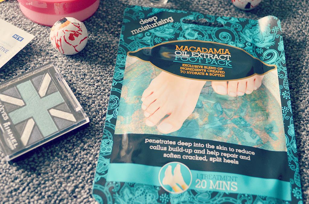 Macadamia Foot Soak