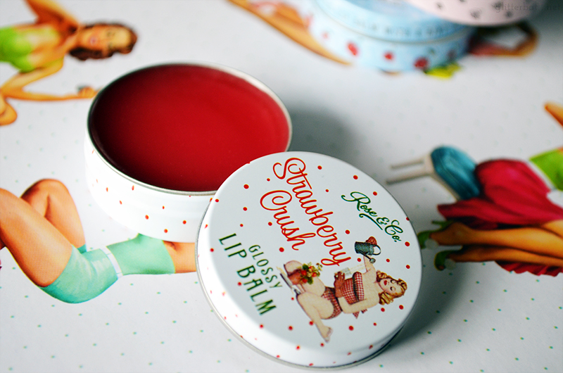 Rose & Co. Strawberry Crush Lip Balm
