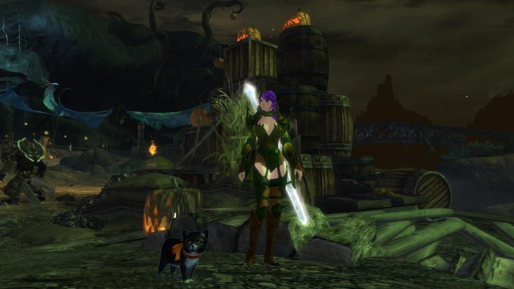 Guild Wars 2 Halloween Style - glitterbat