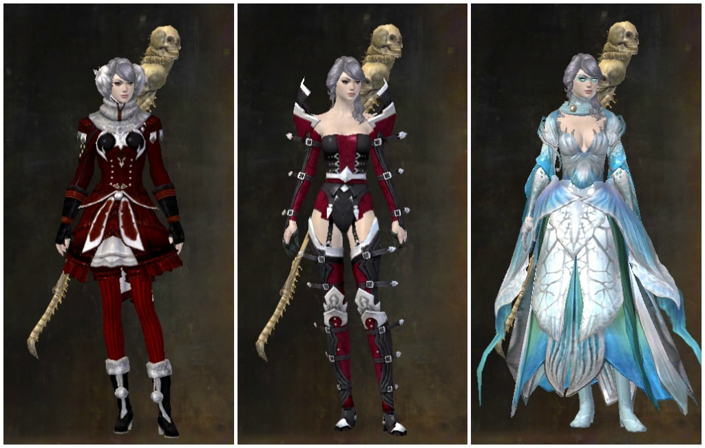 Guild Wars 2 Wintersday Christmas Looks