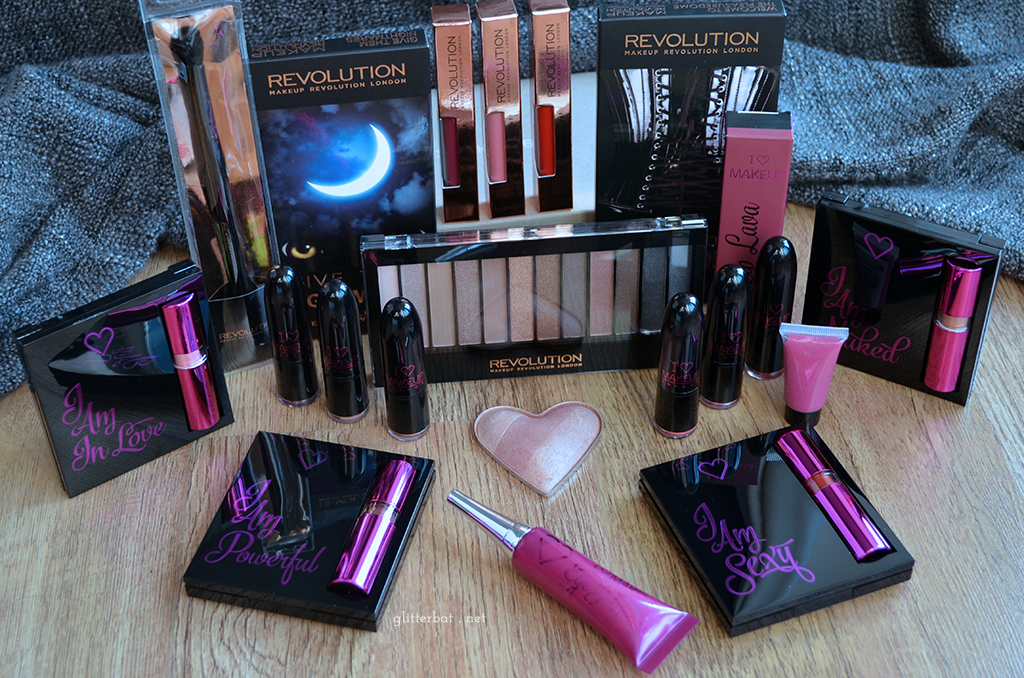 Makeup Revolution / I Heart Makeup Haul