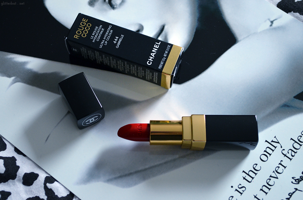 Chanel Red Lipstick Gabrielle