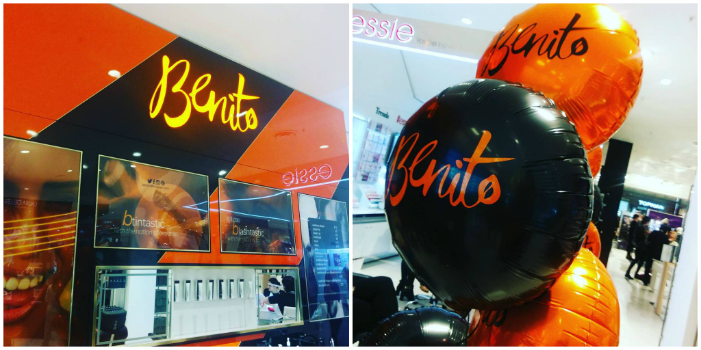 Benito Brow Bar Leeds Launch Event