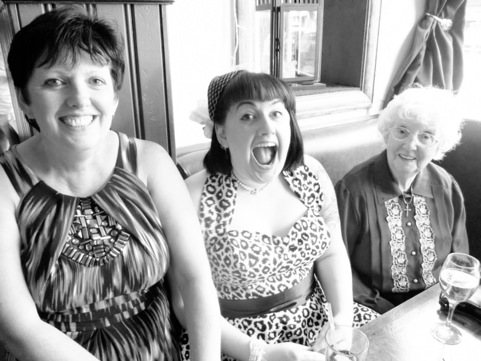 Mum, Me & Nan - Wedding Reception