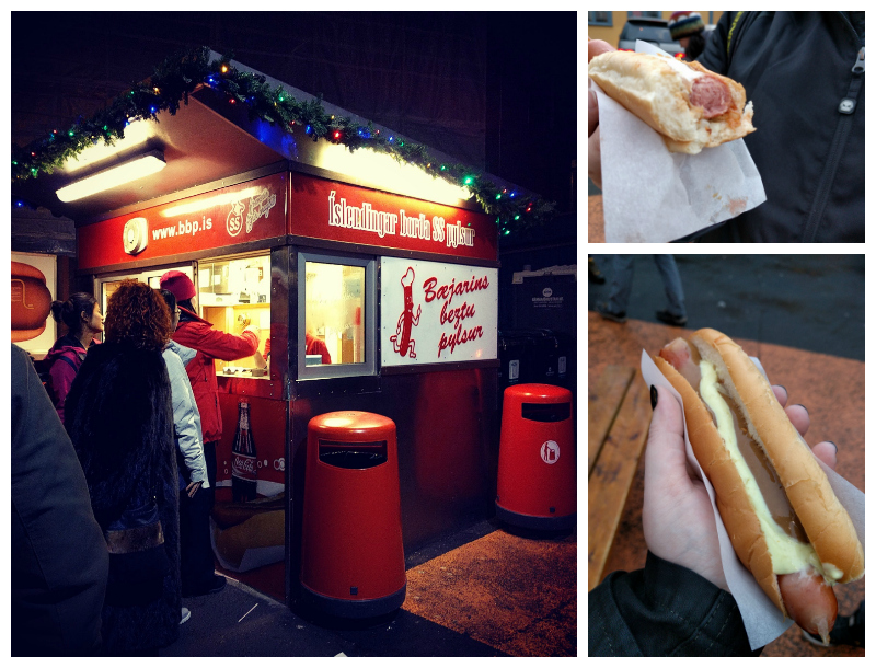 Iceland Food - Hot Dogs