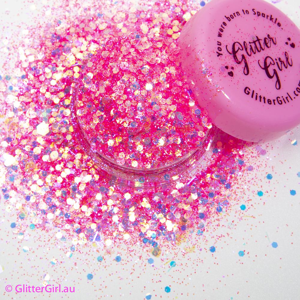 Glitter girl Sugar Heart Eco Glitters