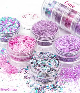 Cutie Collection Eco Glitter Glitter Girl Loose Glitter