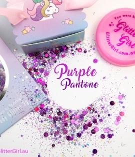 Purple Pantone Eco Glitter