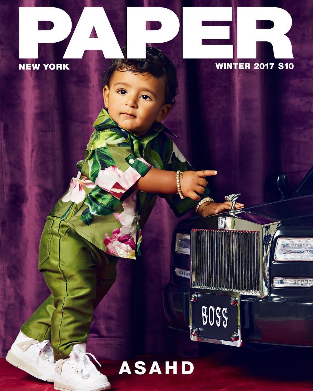 Asahd Khaled Covers Paper Magazine