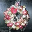 %22Pink Parfait,%22 Mariah Carey's Wreath - Version 3