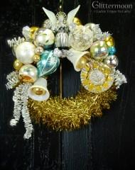 Shabby Angel Mini Wreath