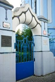 Entry to the garden