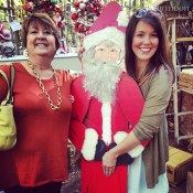 This mother and daughter team were so much fun. Santa went home with mom.
