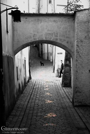 Dog + Boy II. Also in Passau.