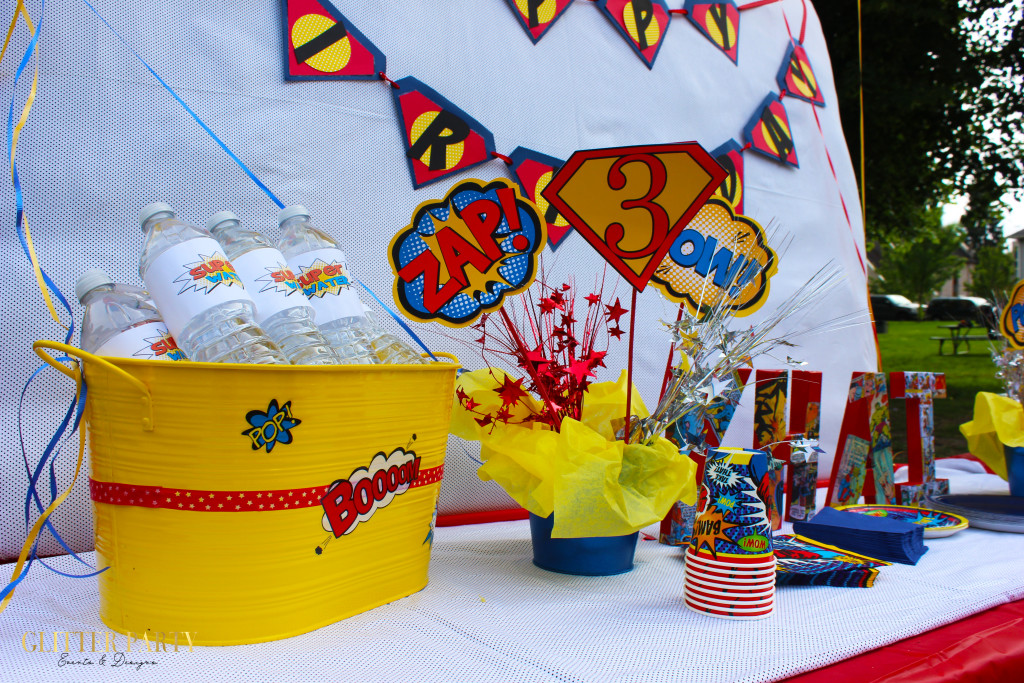 super hero themed party ideas