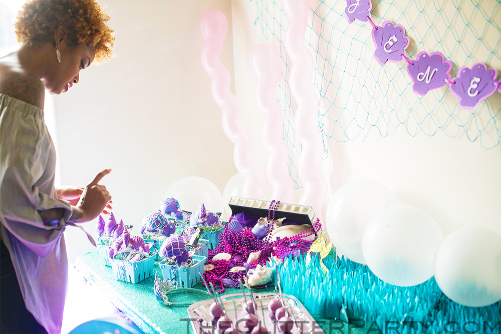 mermaid party DIY