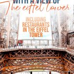 25 Best Restaurants In Paris With A View Of The Eiffel Tower