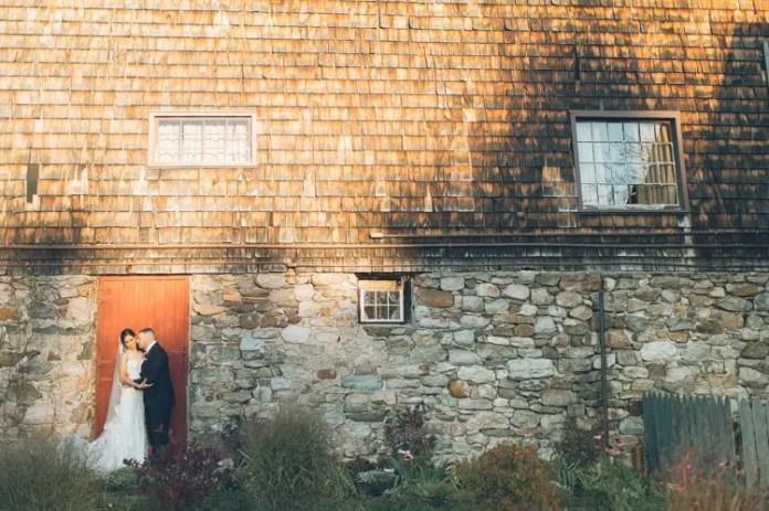 rustic new jersey barn wedding