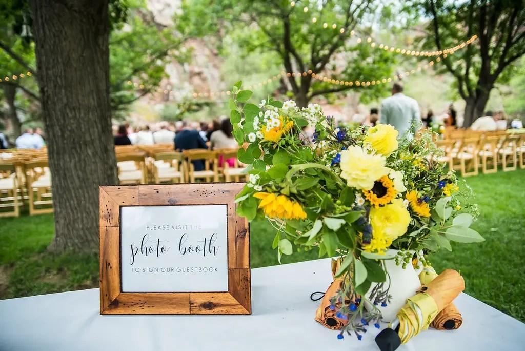 Backyard-Style Wedding at The Farmette in Lyons, CO