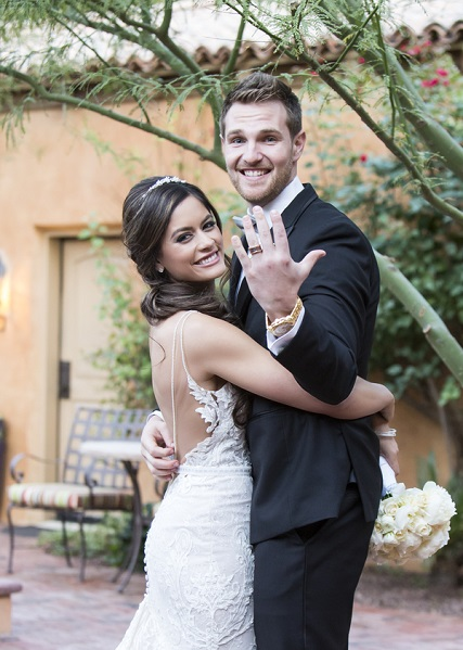 MLB Star Marries the Love of His Life at the Royal Palms Resort in Arizona