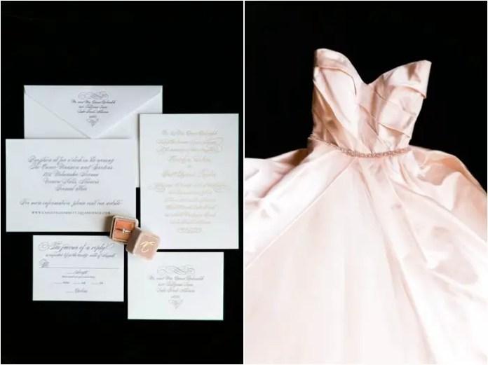 Monique Lhuillier blush gown
