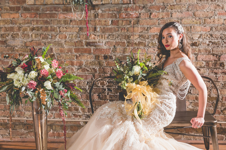 Vintage Glam Wedding - Styled Shoot in Illinois