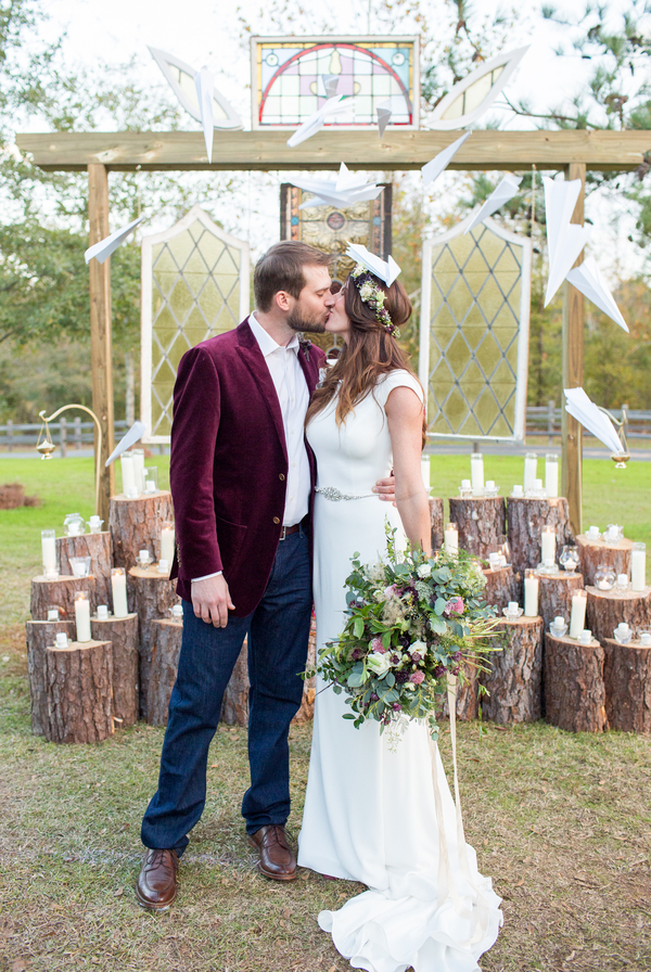 Boho Rustic Themed Wedding In South Carolina