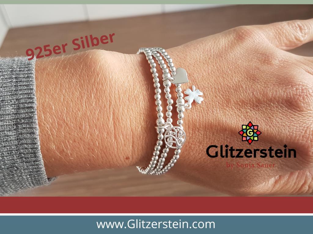 9 0 diy-armband-set-instagram-925-silber-kleeblatt