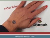 Schmuckverbinder Lotusbluete 925 Silber (Variante 2)