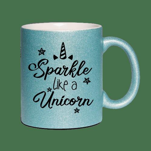 Sparkle like a unicorn