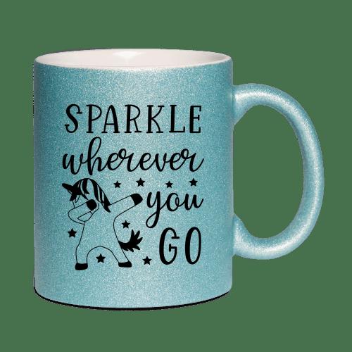 Sparkle where ever you go