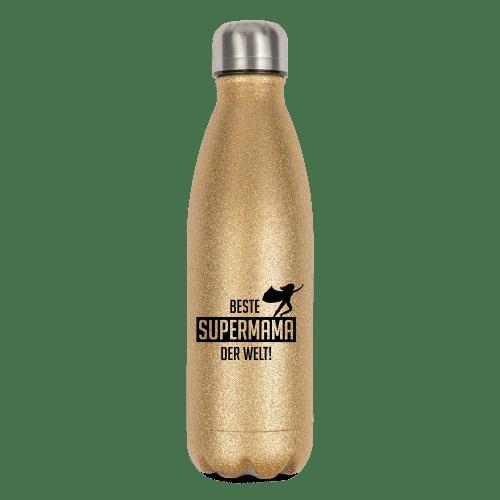 Beste Supermama der Welt - Flasche