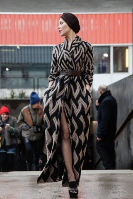 16 Stylish Belted Coats For Winter | Fantastic Ideas from Creativo Latino