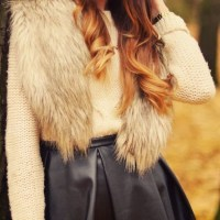 40 Sexy Winter Skirt Outfit Ideas - Fashion 2016