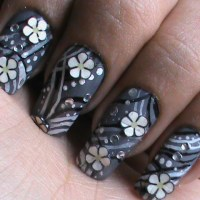 Easy Flower Nail Art Designs For Beginners - Womenitems.Com