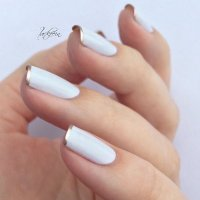 30 French Manicure Nail Art Designs & Ideas - Meet The Best You