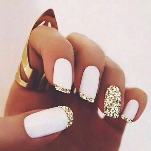 30 French Manicure Nail Art Designs Ideas Meet The