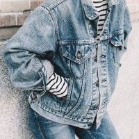 Inspiration | Denim - La Bloguera Pelirroja