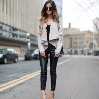Favorite Leather Pants. | Mia Mia Mine