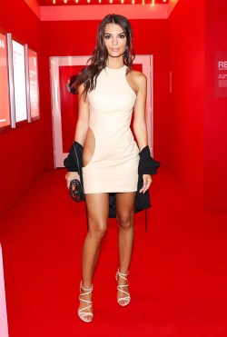 Emily Ratajkowski attends Target NYFW Kickoff Event in New York