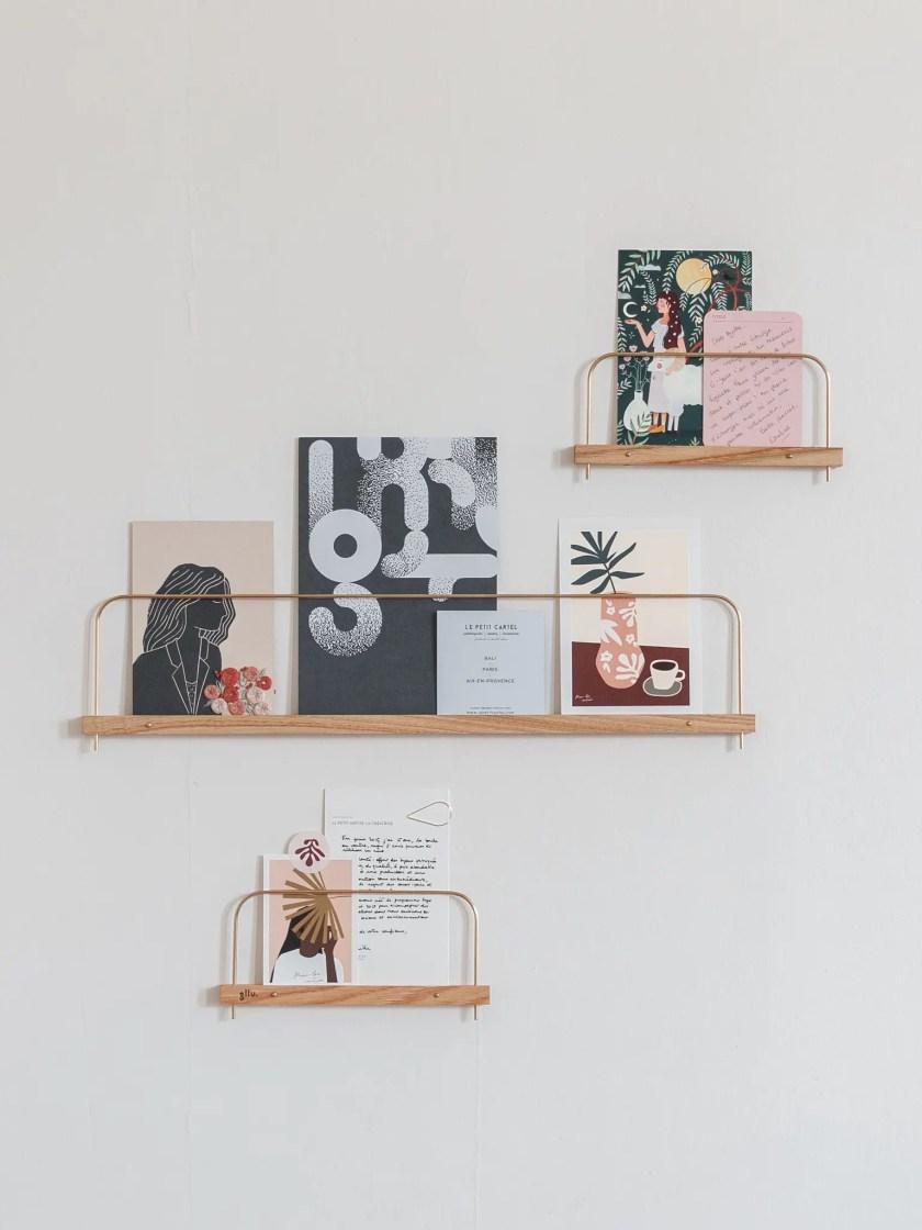 etagere photo super-poses bois gllu