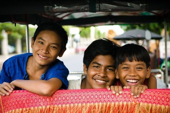 the lovely khmer people are one of the reasons why I love Cambodia